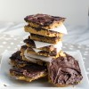 No Bake Peanut Butter and Chocolate Pile Ups
